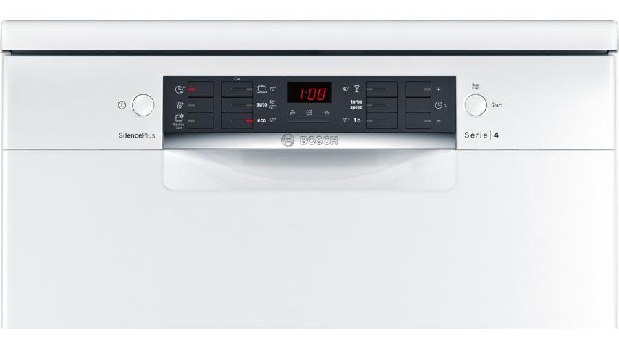 מדיח כלים רחב לבן 13 מע' כלים Bosch SMS46MW01E בוש - תמונה 5