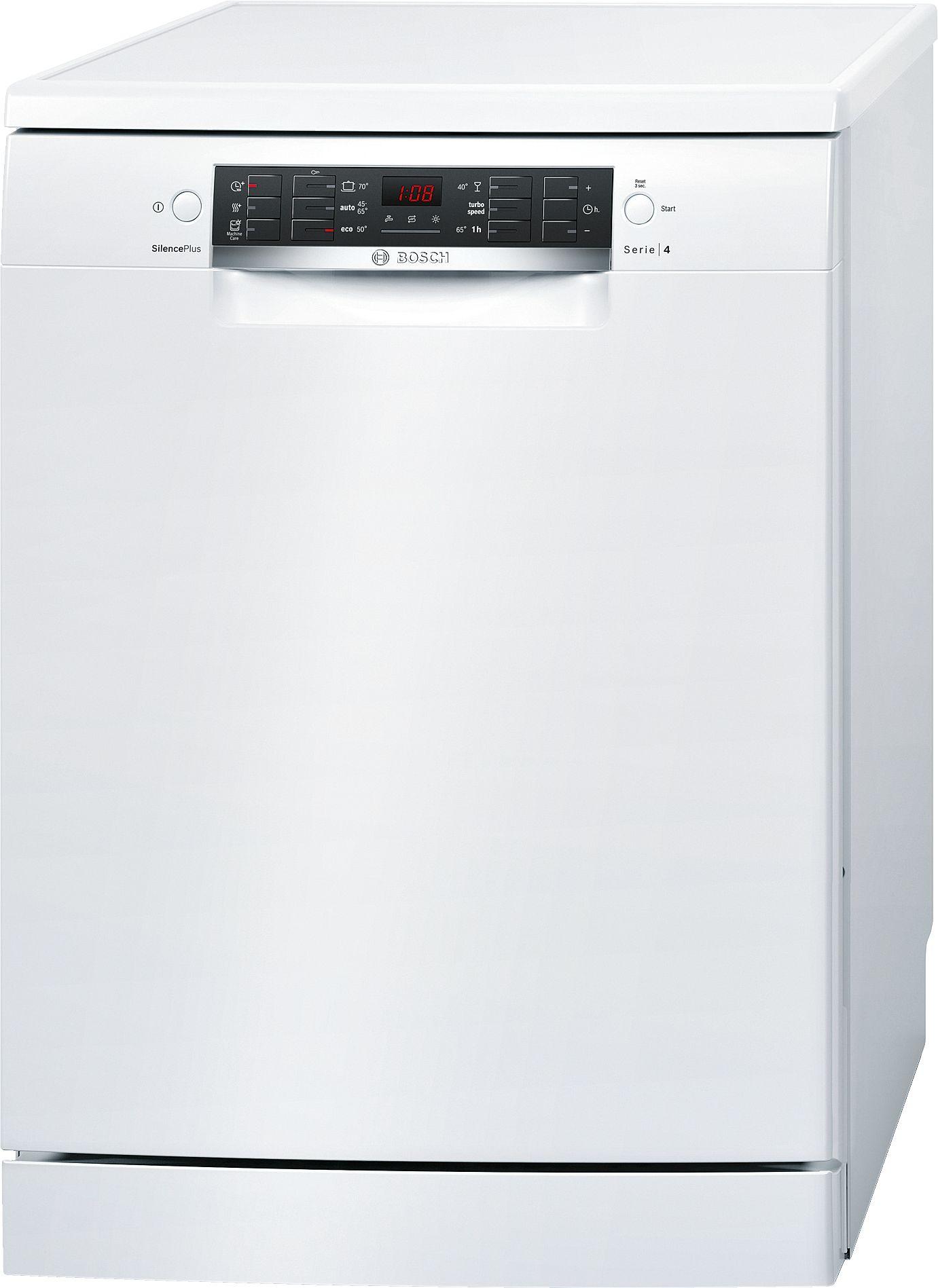 מדיח כלים רחב לבן 13 מע' כלים Bosch SMS46MW01E בוש - תמונה 1