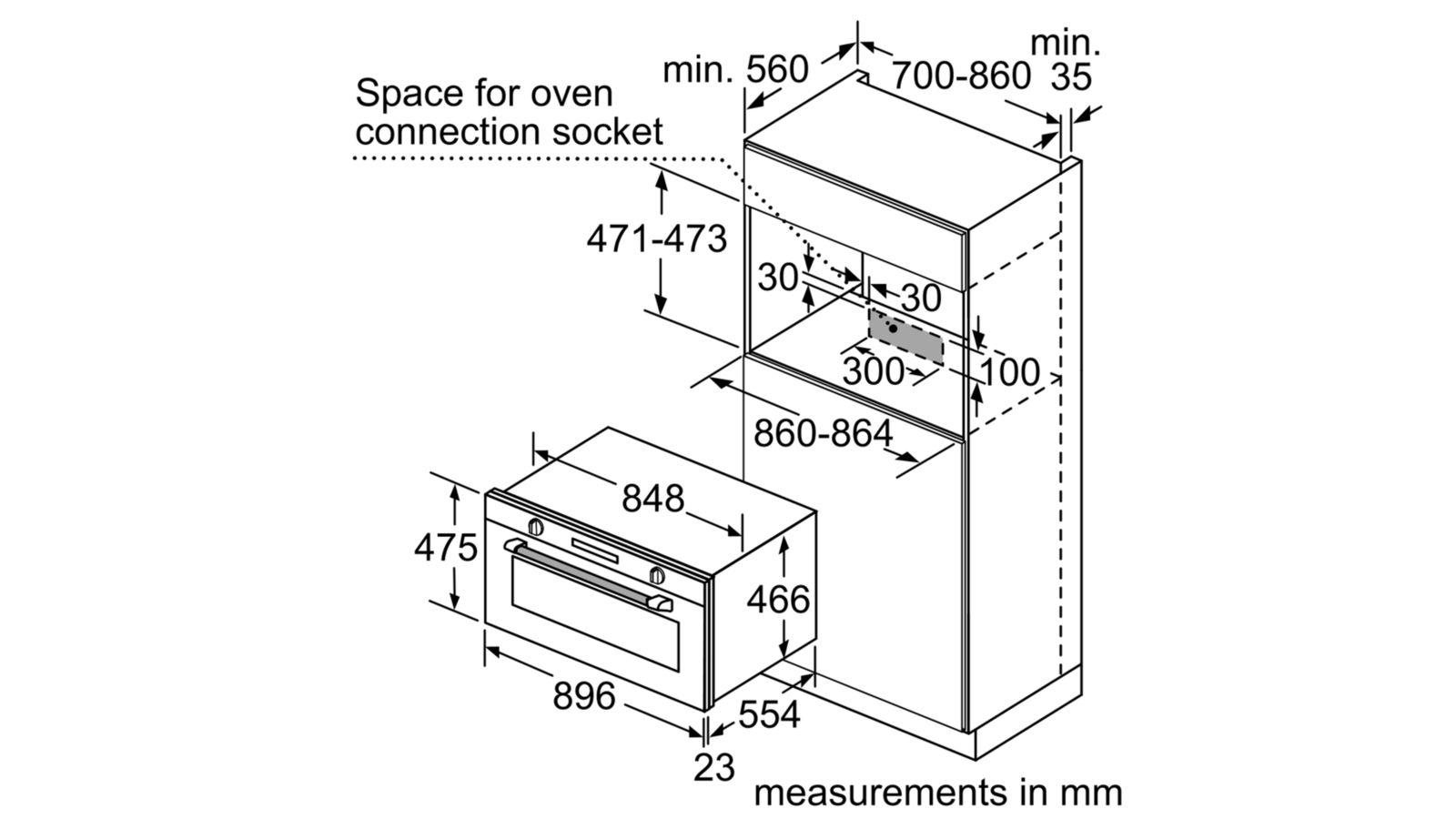 VB558C0S0 שרטוט התקנה