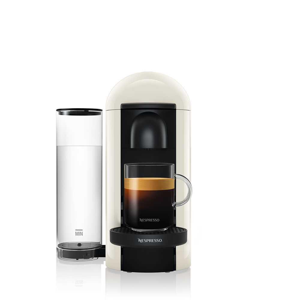 מכונת קפה VertuoPlus מבית NESPRESSO דגם GBC2 בגוון לבן כולל מקציף חלב אירוצי'נו - תמונה 4