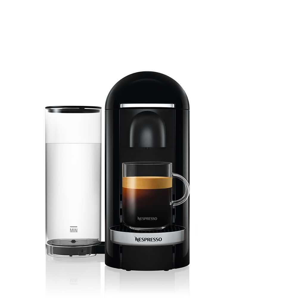 מכונת קפה VertuoPlus מבית NESPRESSO דגם GBC2 בגוון שחור כולל מקציף חלב אירוצי'נו - תמונה 4
