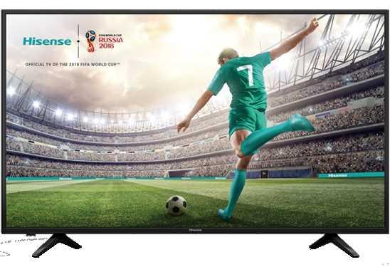 טלוויזיה Hisense H50A6100 4K 50 אינטש הייסנס - תמונה 1