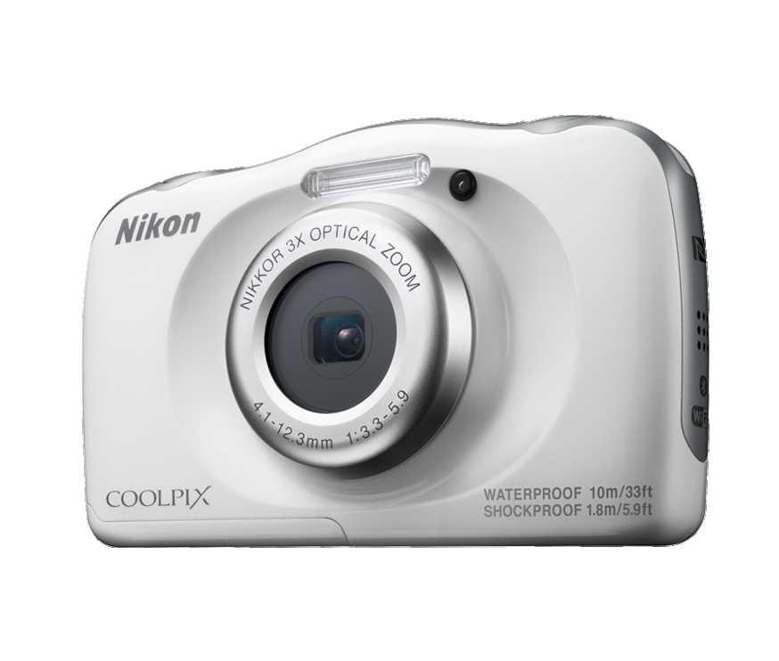 מצלמה תת ימית/נגד מים Nikon Coolpix W100 ניקון+תיק - תמונה 1