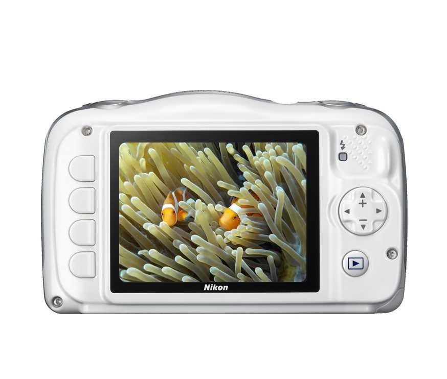 מצלמה תת ימית/נגד מים Nikon Coolpix W100 ניקון+תיק - תמונה 3
