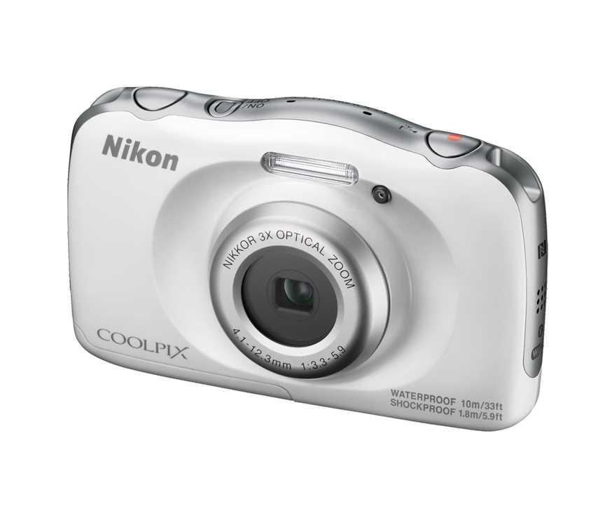 מצלמה תת ימית/נגד מים Nikon Coolpix W100 ניקון+תיק - תמונה 4