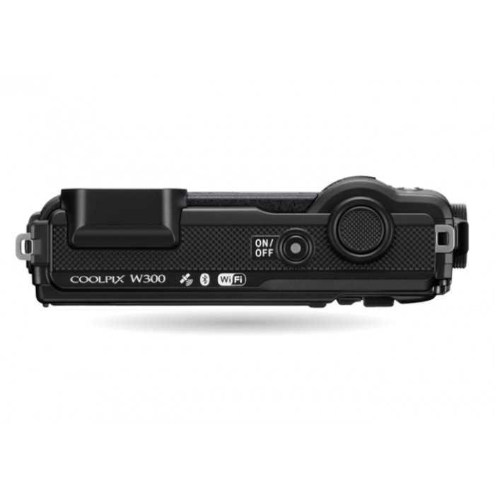 מצלמה Nikon Coolpix W300 BK ניקון +תיק - תמונה 4