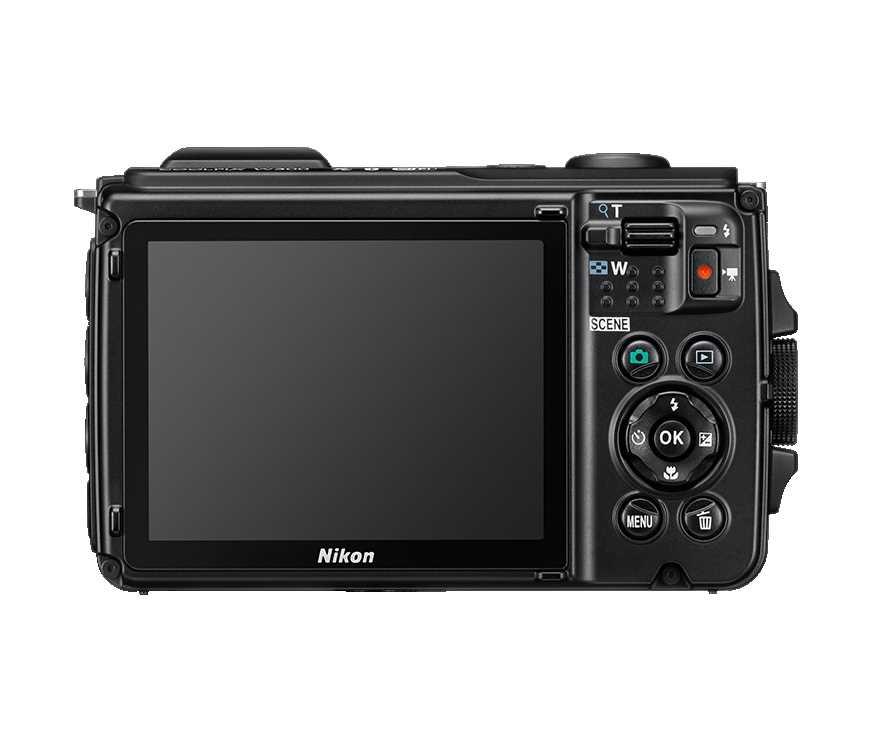 מצלמה Nikon Coolpix W300 BK ניקון +תיק - תמונה 3