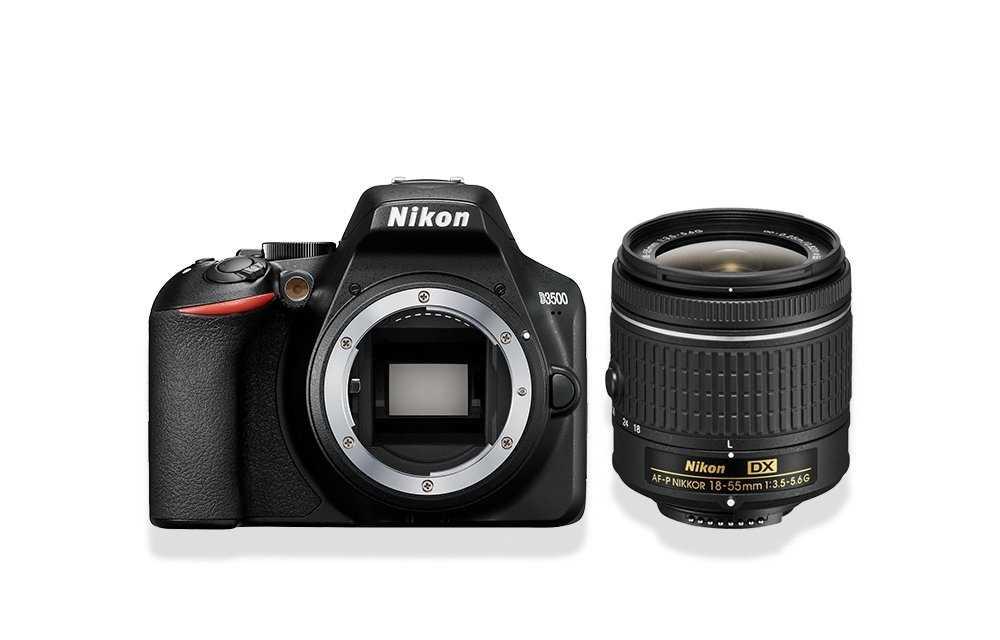 מצלמה + עדשה Nikon D3500 + 18-55mm AF-P ניקון - תמונה 7