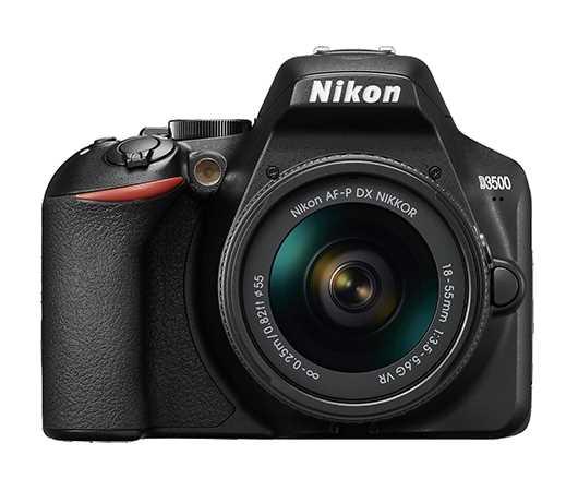 מצלמה + עדשה Nikon D3500 + 18-55mm AF-P ניקון - תמונה 1