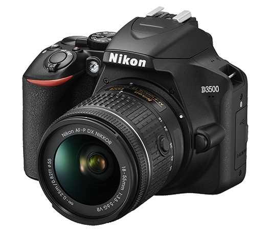 מצלמה + עדשה Nikon D3500 + 18-55mm AF-P ניקון - תמונה 2