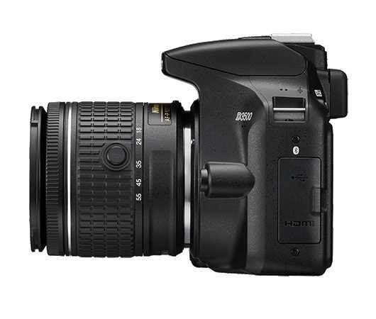 מצלמה + עדשה Nikon D3500 + 18-55mm AF-P ניקון - תמונה 3