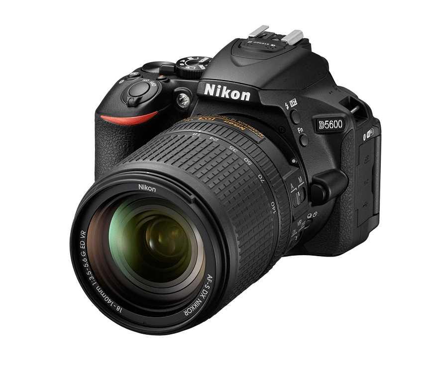 מצלמה רפלקס DSLR  Nikon D5600 ניקון + עדשה 18-140VR AF-S - תמונה 8