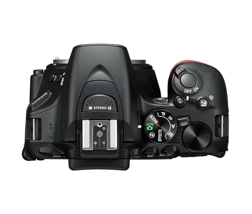 מצלמה רפלקס DSLR  Nikon D5600 ניקון + עדשה 18-140VR AF-S - תמונה 7