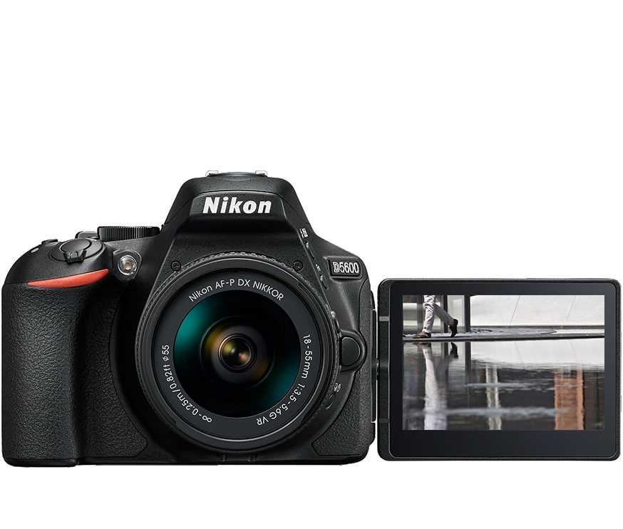 מצלמה רפלקס DSLR  Nikon D5600 ניקון + עדשה 18-140VR AF-S - תמונה 2