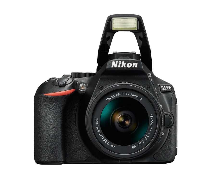מצלמה רפלקס DSLR  Nikon D5600 ניקון + עדשה 18-140VR AF-S - תמונה 3