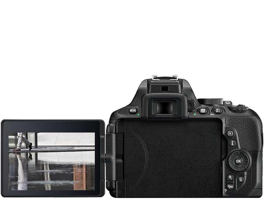 מצלמה רפלקס DSLR  Nikon D5600 ניקון + עדשה 18-140VR AF-S - תמונה 5