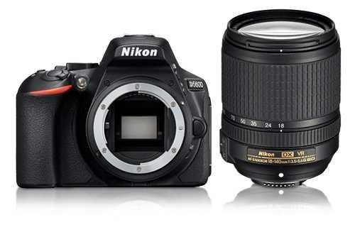מצלמה רפלקס DSLR  Nikon D5600 ניקון + עדשה 18-140VR AF-S - תמונה 9