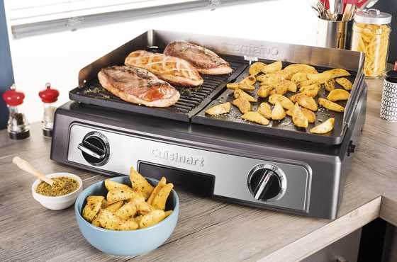 Cuisinart פלאנצ'ה גריל חשמלית מקצועית דגם PL50E - תמונה 3