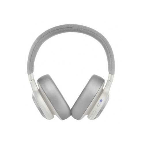 אוזניות JBL E65BTNC Bluetooth - לבן - תמונה 1