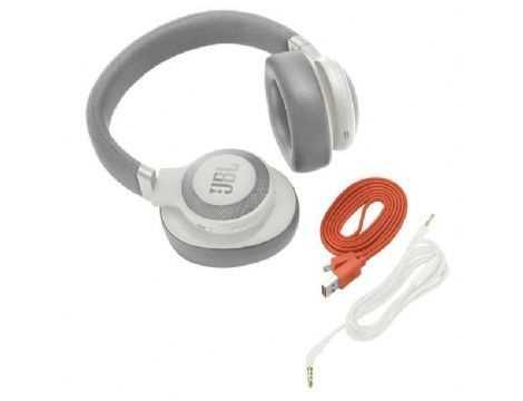 אוזניות JBL E65BTNC Bluetooth - לבן - תמונה 3