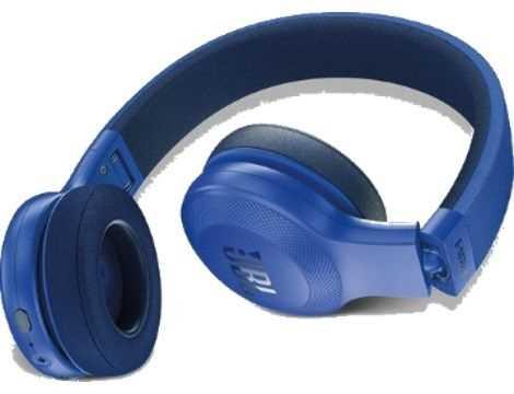 אוזניות JBL E45BT Bluetooth - כחול - תמונה 3