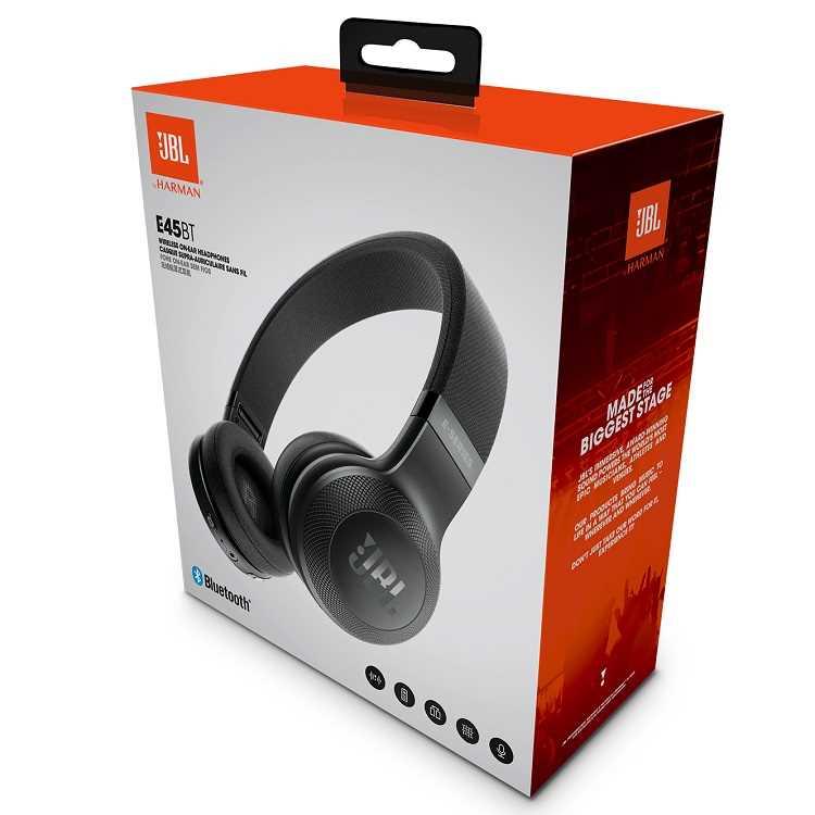 אוזניות JBL E45BT Bluetooth - תמונה 4