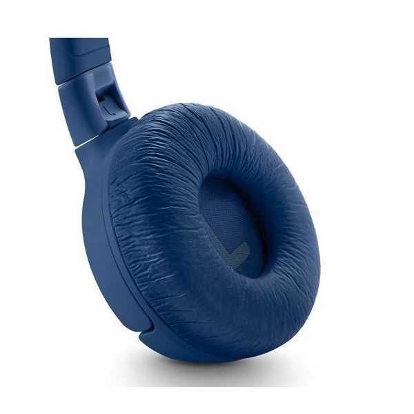 אוזניות JBL TUNE 600BTNC Bluetooth - כחול - תמונה 4