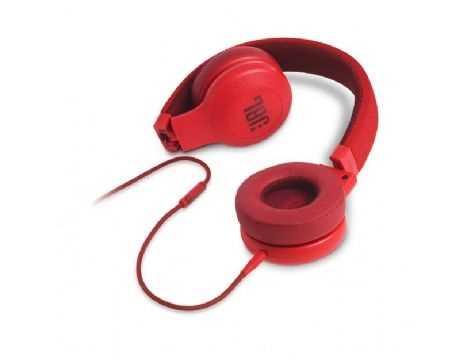 אוזניות חוטיות JBL E35 - אדום - תמונה 3