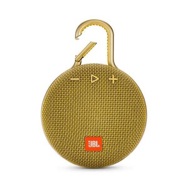 רמקול נייד JBL Clip 3 - צהוב - תמונה 1