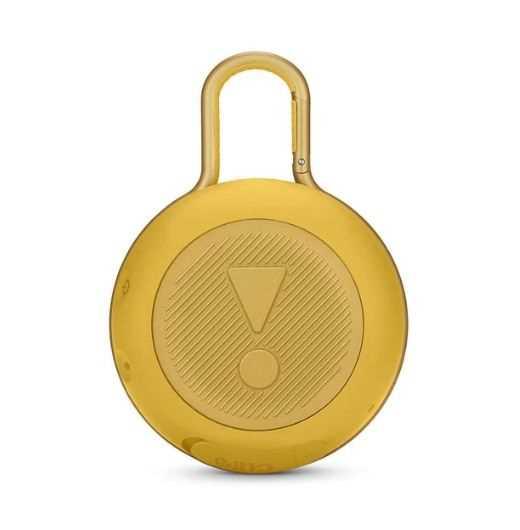 רמקול נייד JBL Clip 3 - צהוב - תמונה 2