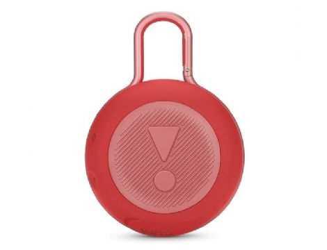 רמקול נייד JBL Clip 3 - אדום - תמונה 2