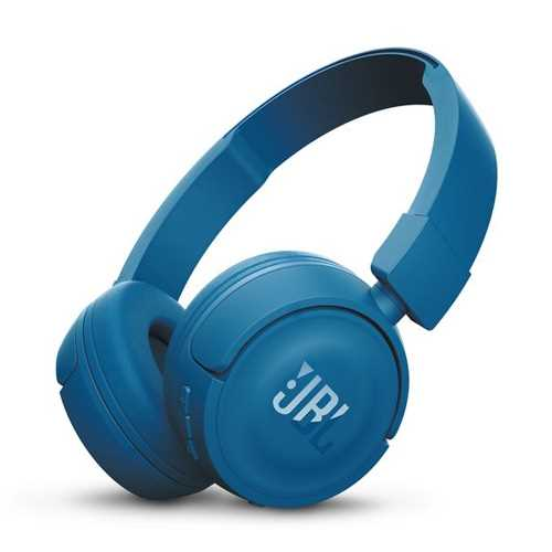 אוזניות JBL T450BT Bluetooth - כחול - תמונה 1