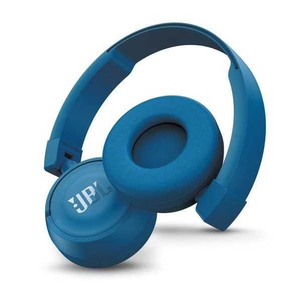 אוזניות JBL T450BT Bluetooth - כחול - תמונה 2