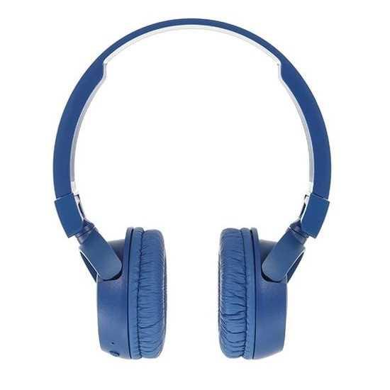 אוזניות JBL T450BT Bluetooth - כחול - תמונה 4