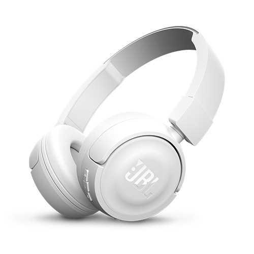 אוזניות JBL T450BT Bluetooth - לבן - תמונה 1
