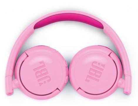 אוזניות JBL JR300BT Bluetooth - ורוד - תמונה 2