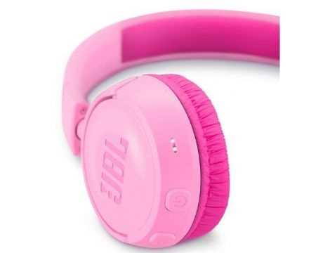 אוזניות JBL JR300BT Bluetooth - ורוד - תמונה 3