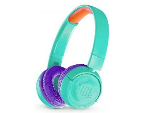 אוזניות JBL JR300BT Bluetooth - טורכיז - תמונה 1