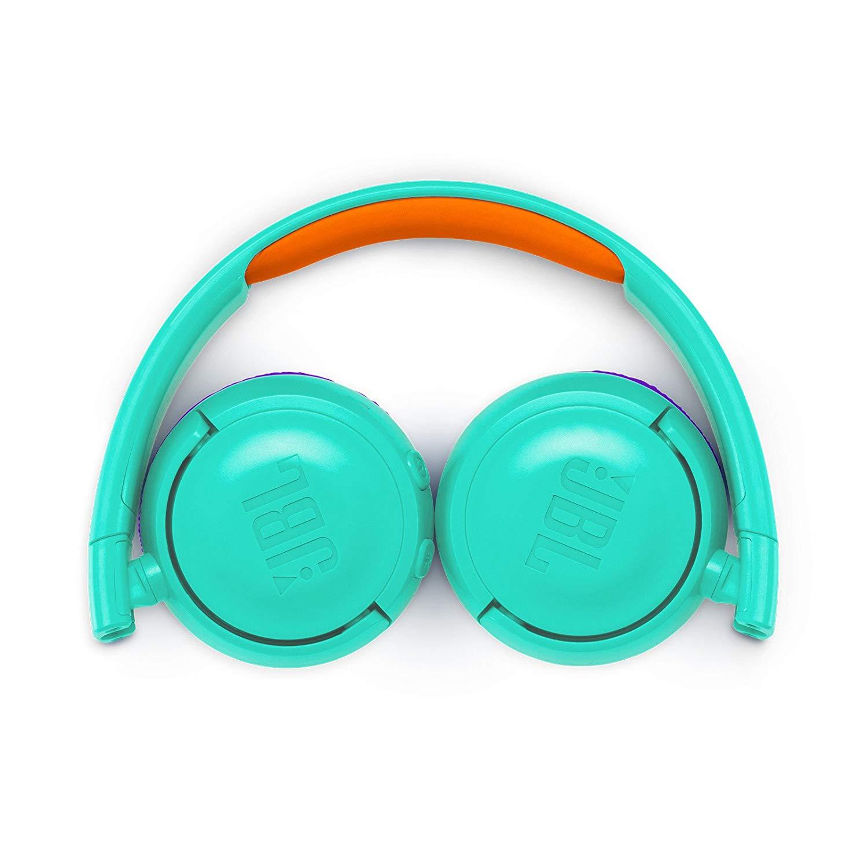 אוזניות JBL JR300BT Bluetooth - טורכיז - תמונה 5