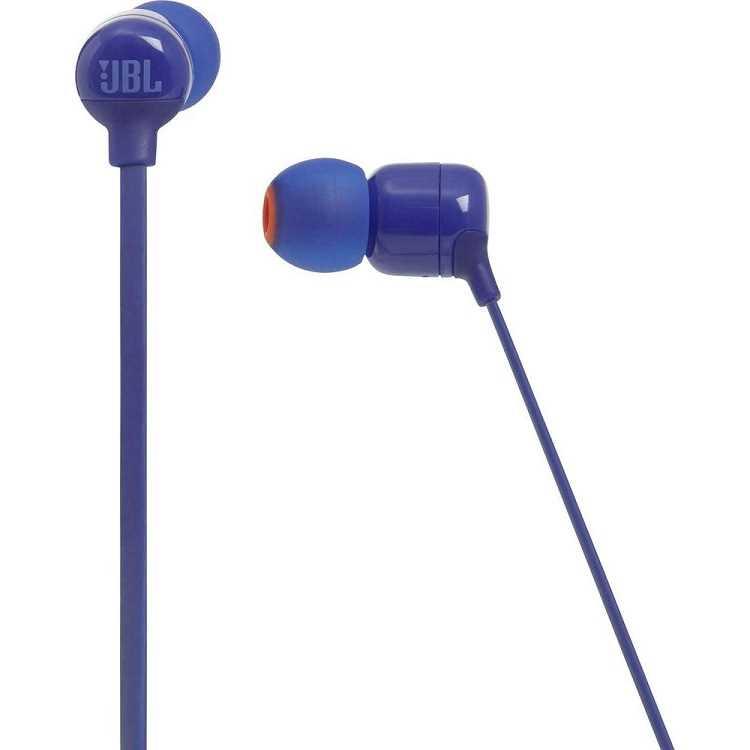 אוזניות JBL T110BT Bluetooth - כחול - תמונה 2