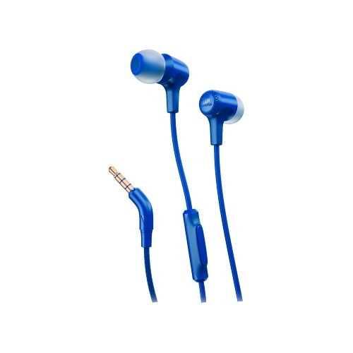 אוזניות חוטיות JBL E15 - כחול - תמונה 1