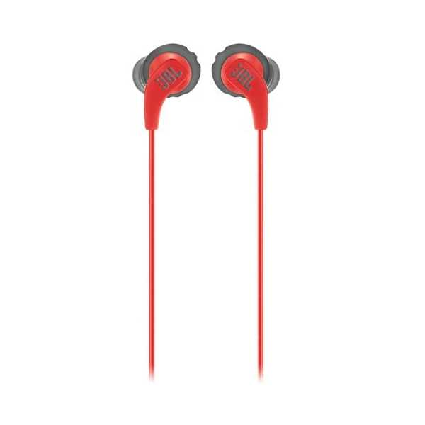 אוזניות חוטיות JBL Endurance RUN - אדום/שחור - תמונה 2