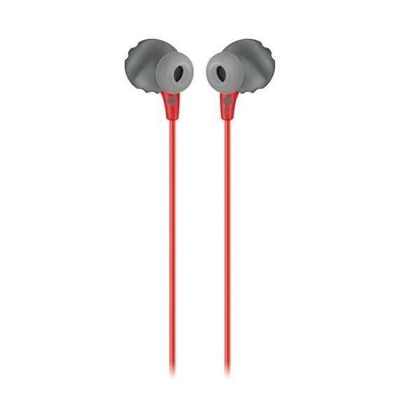 אוזניות חוטיות JBL Endurance RUN - אדום/שחור - תמונה 3