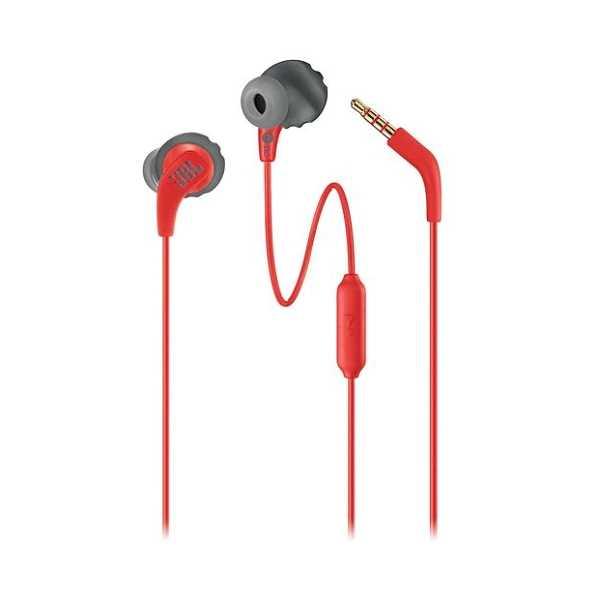 אוזניות חוטיות JBL Endurance RUN - אדום/שחור - תמונה 4