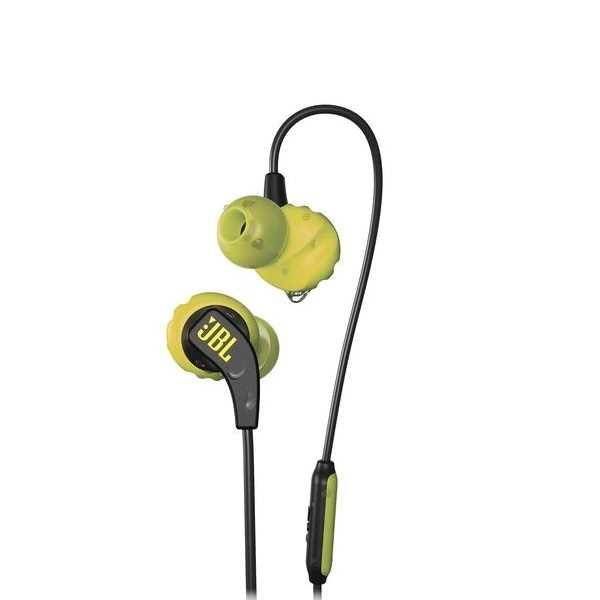 אוזניות חוטיות JBL Endurance RUN - ירוק/שחור - תמונה 1