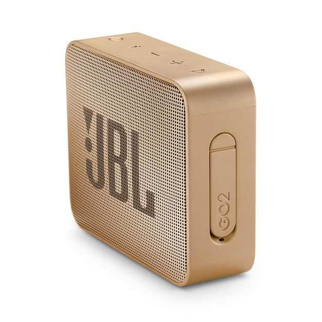 רמקול נייד JBL GO 2 - שמפניה - תמונה 2