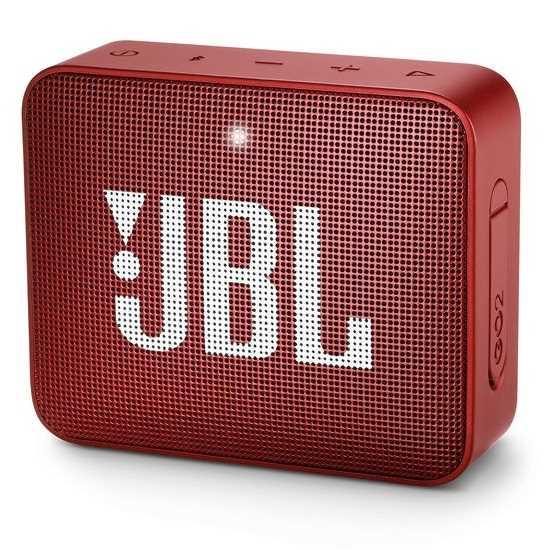 רמקול נייד JBL GO 2 - אדום - תמונה 1