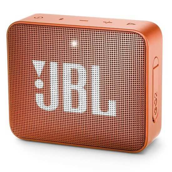 רמקול נייד JBL GO 2 - כתום - תמונה 1