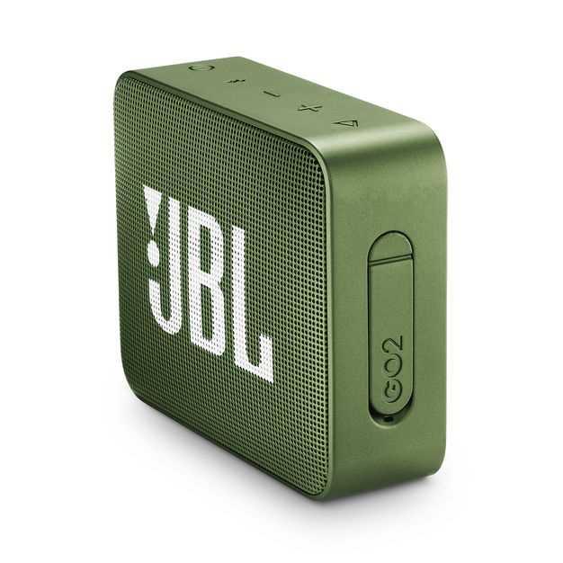 רמקול נייד JBL GO 2 - ירוק - תמונה 2
