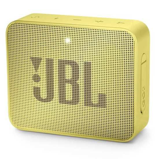 רמקול נייד JBL GO 2 - צהוב - תמונה 1
